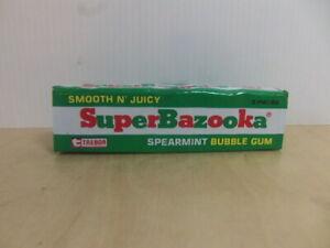 Trebor – SuperBazooka Spearmint Bubble Gum Packet – c 1975 unopened sweets