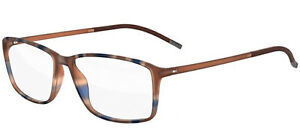 Silhouette SPX ILLUSION FULLRIM 2893 Brown Blue 54/14/0 men Eyewear Frame