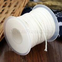 1Roll Square Braid Candle Cotton Wick Durable Wicks Core Candle Making Supply