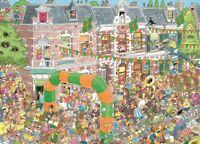 Jan van Haasteren Puzzle 1000 Piece Nijmegen Marches Comic JVH Jigsaw by Jumbo