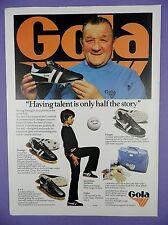 Bob Paisley, Liverpool FC– Gola Football Boots, Trainers & Sports Bag – Magazine