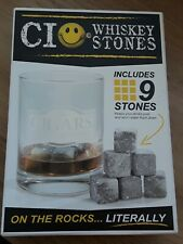 New listing Ci Whiskey Stones includes 9 stones & pouch!New Cocktail Bar Party On The Rocks