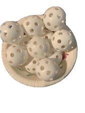 One Dozen Mini Size Wiffleballs