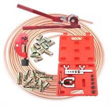 "Copper Brake Pipe Line Kit réparation tuyau fin de Flarer Cutter Cintreuse 3/16"""