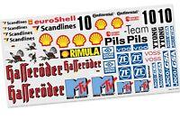 FG Team-Aufkleber MAN-Truck, Set - 3076 - Sticker, decals, für Karosserie
