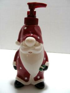 Christmas Bath Santa Claus Soap or Lotion Dispenser SLEEPY SANTA