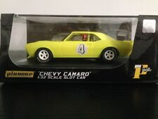Pioneer Slot Car Chevrolet Camaro Screaming Yellow J Code Special J101212