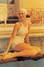 Nostalgia Postcard Bathing Beauty 1937 Fashion Reproduction Card N244