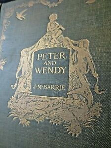 1911 Peter and Wendy by J.M. Barrie Peter Pan true first / first edition Hodder