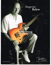 2006 PARKER Tangerine Fly Electric Guitar ADRIAN BELEW Vtg Print Ad