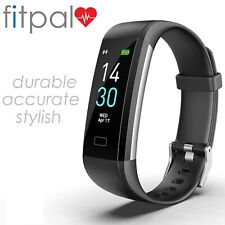 Genuine Fitpal Fitness Activity Tracker Heart Rate Sport Fit Bit Smart Watch