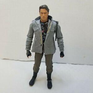 """NECA The Terminator Schwarzenegger (Tech Noir) Ultimate 7"""" T-800 Figure LOOSE"""