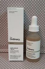 The Ordinary - Lactic Acid 5% + HA 2%. 1 fl oz, new!