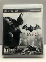 Batman: Arkham City - Sony PlayStation 3 PS3 - Complete w/ Manual - Tested