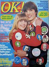 OK! 1978: MICHEL SARDOU_JANE BIRKIN_NICOLETTA_DAVE_LAURENT MALET_NADINE EXPERT