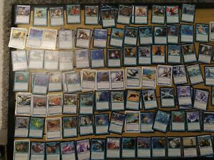 lots cartes magic bleu