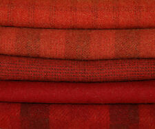 """HAND DYED RUG HOOKING WOOL Mill-Dyed ~ """"RAVISHING REDS-II"""""""