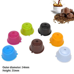 6 Pcs/set Reusable Coffee Capsule Filter Cup for Dolce Gusto Home kitchen cof P3