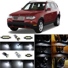 13pcs Error Free White LED Interior Light Package Fit For 2004-2010 BMW X3 E83