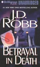 BETRAYAL IN DEATH unabridged audio book on CD by J.D. ROBB (Nora Roberts)