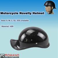Novelty Motorcycle Street Bike Half Face Helmet Dirt Bike Chopper Cruiser Biker