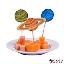 25 Space Food  Cupcake Picks  Party Celebration Decoration