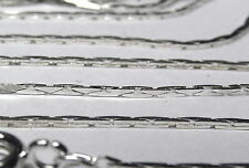 Wholesale 10 Pcs 18 Inch Silver Plated 1 MM Cobra Chain Necklace Lot