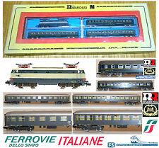 RIVAROSSI 9007 VINTAGE SET FS TARTARUGA E444 +2 VAGONI +1 CIWL LETTO BOX SCALA-N