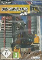 CD-ROM + Bau-Simulator 2011 + Bau + Simulation + Baustellen + Bauvorhaben + Win7