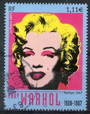 STAMP / TIMBRE FRANCE OBLITERE N° 3628 / TABLEAUX / WARHOL