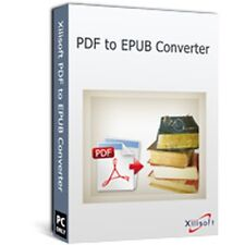 Xilisoft PDF to ePub Converter, turn PDF files into eBook Format