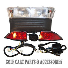 Club Car Precedent Golf Cart Deluxe Head Light Kit (Electric 2004- 08.5) Street