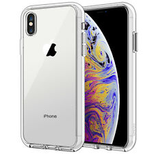 JETech Case for iPhone Xs Max 6.5-Inch Shock-Absorption Bumper Case Cover Clear