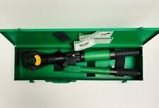 GREENLEE 44999 UTILITY HYDRAULIC DIELESS CRIMPING TOOL (2) -FREE SHIPPING-