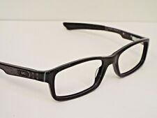 Authentic Oakley OX1060-0253 BUCKET Polished Black Eyeglasses Frame $200