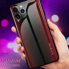 Luxury TPU Hard CaseTempered Glass Phone Case Cover Fits iPhone11 Pro Max 11 Pro