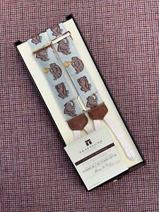 NEW Trafalgar Limited Edition Suspenders Braces Hear No Evil Wise Monkeys