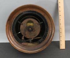 RARE Large Antique Clockworks Registering Chart Crosby Steam Gage Valve Co Gauge