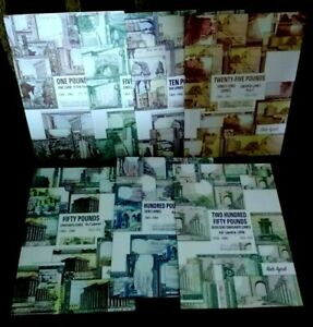 LEBANON SPECIAL FIT IN 7 BLANK ILLISTRATED ALBUMS FOR ALL LEBANESE BANKNOTES