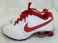 NIKE USED SHOX II RARE 6 WHITE/RED HEARTS SNEAKERS/RUNNING/WALKING SHOES 343907