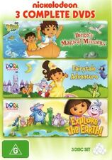 Go Diego Go: Magical Missions/Dora the Explorer: Fairytale Adventure 3DVD NEW
