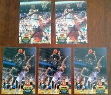 New listing 1992-93 Shaquille O'Neal Topps Stadium Club Rookie RC Members Choice 5 Card Lot