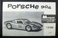 Monogram 1:32 PORSCHE 904; INSTRUCTIONS ONLY; PC99; 1964; Assembly Leaflet