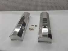 SBC FABRICATED TALL ALUMINUM VALVE COVERS w/ ACCESSORY HOLES