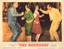Original Lobby Card 1965 The Rounders Glenn Ford Henry Fonda Square Dancing #4