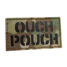 IR ouch pouch 2x3 5 multicam OCP tactical morale lazer cut hook-and-loop patch