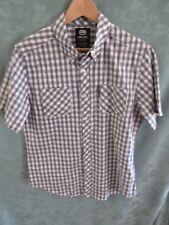 ecko unltd Gingham Plaid Button Down Shirt Size Medium NWT