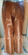 Vintage Levi's Red Tag Leather Snake Pattern Pants 5 Pocket Lined