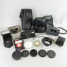 Vintage Photography Junk Drawer Lot #1 Camera Parts caps filter cases