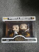 Funko Pop! Moments: Game of Thrones - Daenerys and Jorah Vinyl Figure